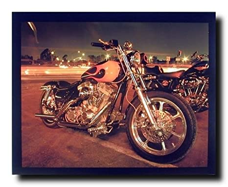 Amazon.com: Harley Davidson clásico Motorcycle Home Decor ...