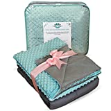 Weighted Blanket Adult Size-For Heavy Stress Relief, Autism, Restless Leg Syndrome & natural calm for anxiety - Tide 60x80