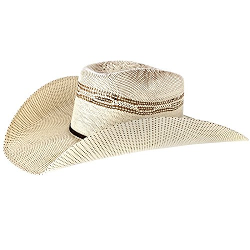 M+F Foot And Headwear Mens Twister Bangora Straw Cowboy Hat 71 4 ... 04cea73c15d