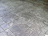 Ashler Notched Slate Concrete Stamp Single by