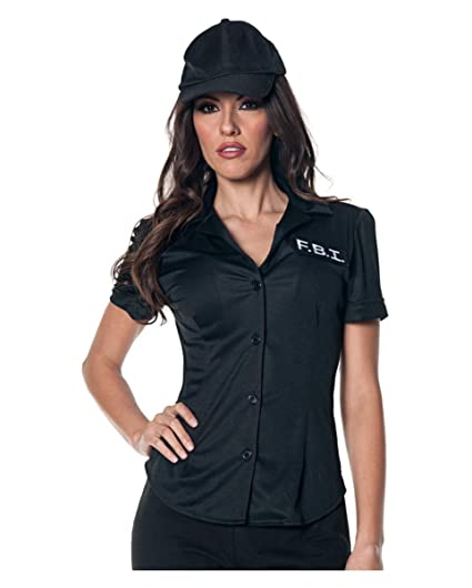 Horror-Shop Blusa de Disfraz del FBI XL: Amazon.es: Juguetes ...