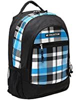 18 Inch Blue Plaid Children Book Bag Backpack Kids School Shoulder Bag