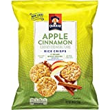 quaker popped cheese - Quaker Rice Crisps, Apple Cinnamon, 7.04 oz Bags, 4 Count (Packaging May Vary)