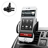 good cell phones - Budget&Good Universal Cell Phone Car Vent Mount Cradle Holder Compatible with iphone SE 7 7 Plus 6s 6 Plus 6 5s 5 4s 4 Nexus Sony Nokia and More (Black)