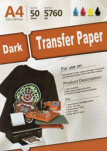 Inkjet Dark Transfer Paper 8.3