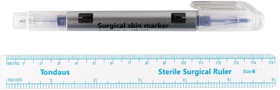 frcolor quirúrgico marcadores de punta rotulador para Skin Tattoo ...