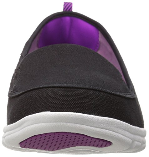 New Balance Womens WL325 Casual Athletic Shoe Black/Purple