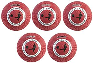 WAKA Official Kickball - Adult 10 (5-Pack)