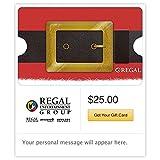 Regal Cinemas Santa Belt Gift Cards - E-mail Delivery