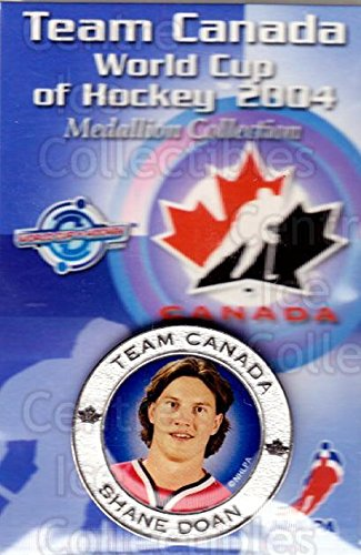 - (CI) Shane Doan Hockey Card 2004 Team Canada World Cup Medallion 24 Shane Doan