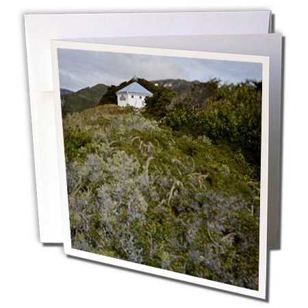 KIKE CALVO Patagonia ISLA DE LOS ESTADOS - San Juan the Salvamento Lighthouse, Tierra de Fuego, Argentina - 1 Greeting Card with envelope (gc_233771_5)