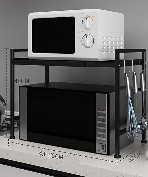 shelf Estante de Cocina, Estante telescópico para Horno de ...