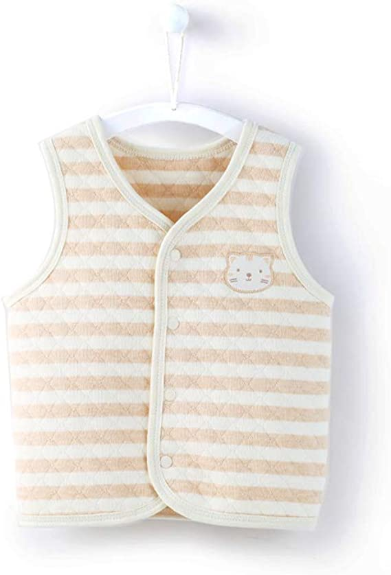 ThreeH Baby Soft Vest Unisex Infant Toddler Waistcoat