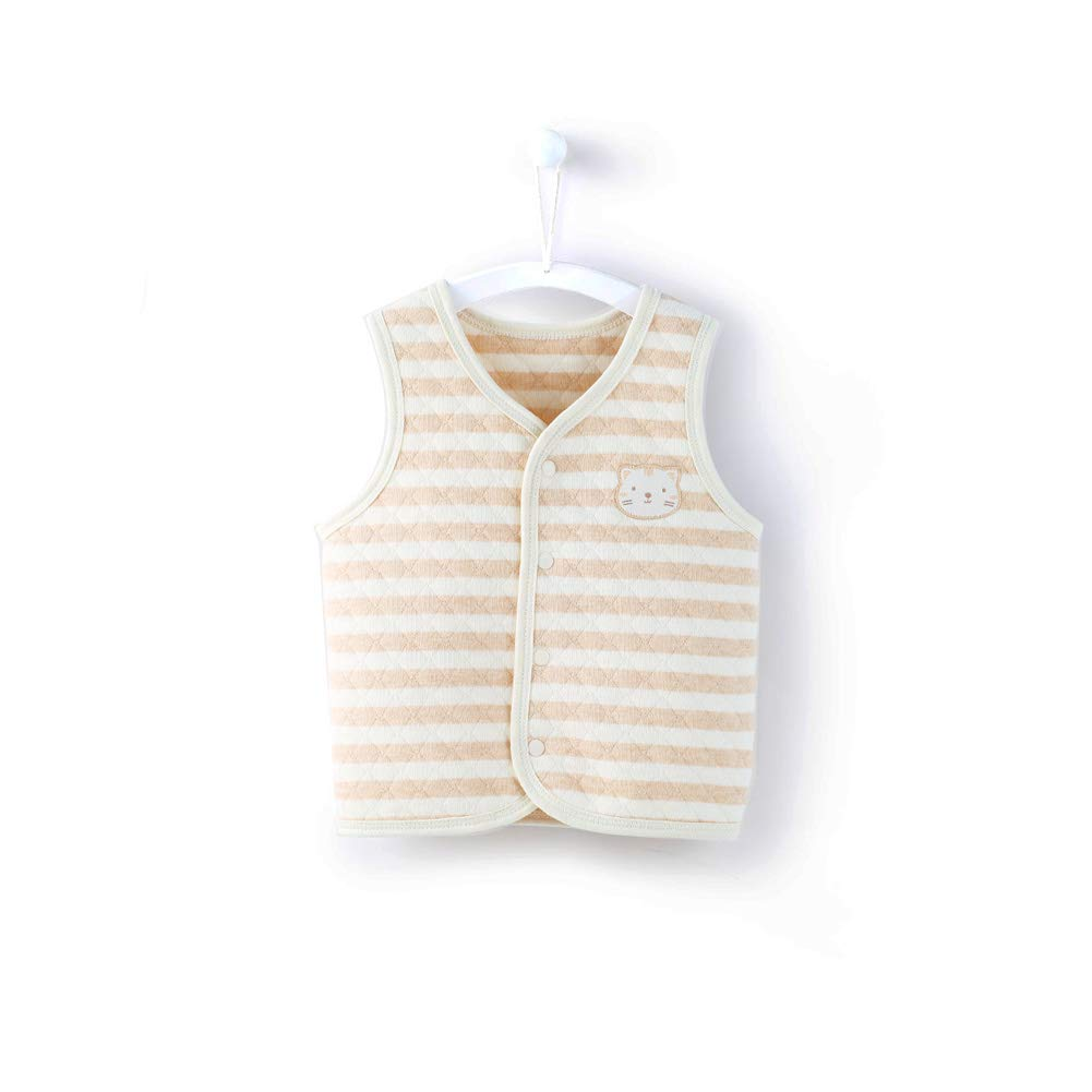Newborn Baby Vest Cotton Kids Vests & Waistcoats 0-2 Years Outerwear & Coats Le En CA-BN570004