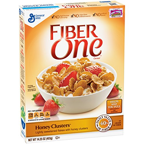 Fiber One Honey Clusters Whole Grain Cereal, 14.25 oz