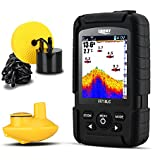 Lucky Fish Finder Portable 2 in 1 Wired & Wireless Fishing Sonar for All Fishing Types