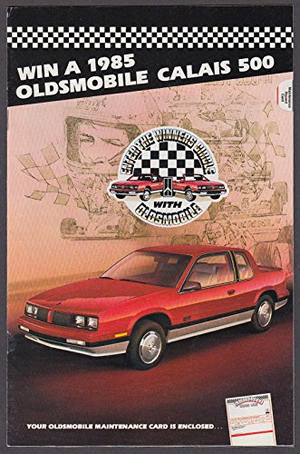 1985 Oldsmobile sales brochure catalog Calais Ciera Cutlass Delta 88 +