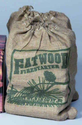 Uniflame 8 POUNDS FATWOOD IN BURLAP SACK by UniFlame