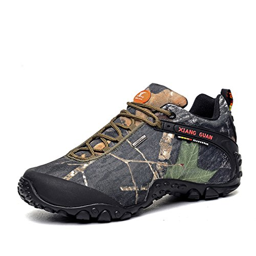 Trekking GUAN Shoes Breathable Ladies Shoes Forest Trail Hiking Women's Camo XIANG Camo Outdoor Walking Waterproof Sport gxBwaqP4P