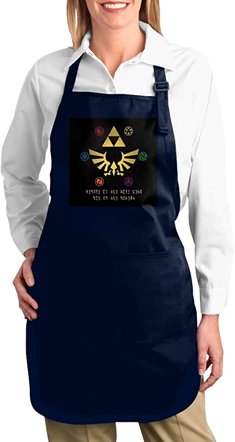 Digital Printing Aprons Legend of Zelda Ocarina Stitched Edges for Crafting