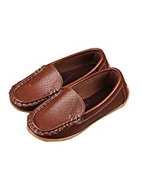 iFANS Toddler Little Kid Boys Girls Loafers Shoes Soft Slip On Dress Flat Shoes