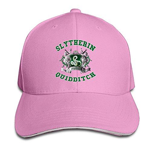 Price comparison product image NUBIA Harry Potter-Slytherin Quidditch 5 Sunbonnet Cap Adjustable Hat Pink