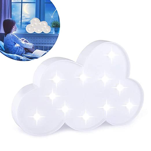 Xelparuc - Cartel Luminoso con Nubes - Carpa de Fiesta LED ...