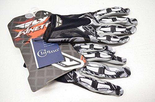 Fly Racing Kinetic Gloves - 2011 - 8/Black/Grey