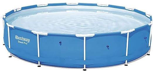 Bestway Piscinas, Steel Pro, Azul, 366 x 366 x 76 cm, 6473 L, 56415: Amazon.es: Jardín
