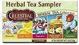 Celestial Seasonings Herbal Tea, Herbal Tea Sampler, 18 Count (Pack of 6)