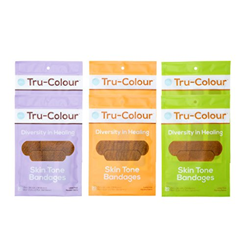Tru-Colour Skin Tone Bandages: Variety 6-Pack (180-count; Multi)