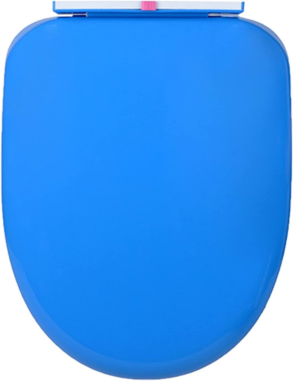 WEITONG Comfort Toilet Seat, Oval Toilet Seats Cover, Durable High Grade Plastic, Slow Close and Removes Easy for Cleaning, Multiple Colour