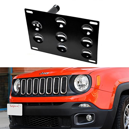 license plate mount front jeep - 9