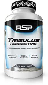 RSP Nutrition Tribulus Terrestris, 800mg - 120c