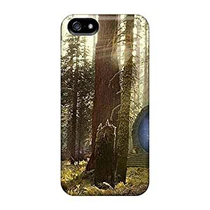 Hot FNH2142oyRO Stargate In Forest Tpu Case Cover Compatible With iphone 6 by supermalls