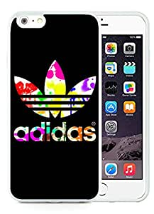 New Antiskid Designed Cover Case For iPhone 6 Plus 5.5 Inch With Adidas 8 White Phone Case