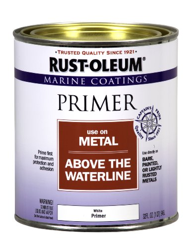 Rust-Oleum 207016 Marine Metal Primer 1-Quart