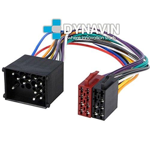 ISO-BMW.17 - Conector iso universal para instalar radios en BMW, Land Rover, Rover y Mini Dynavin