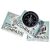 METAL ADVENTURER'S COMPASS