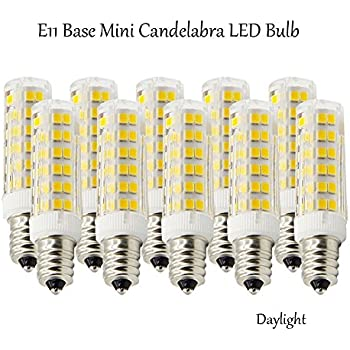 Ashialight E11 Led Light Bulbs Daylight Equal 120 Volt