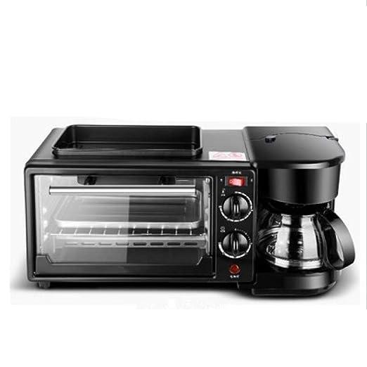 Shisky Máquina multifuncional de desayuno cafetera horno eléctrico ...