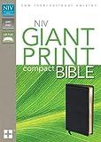 NIV Giant Print Compact Bible, Zondervan Publishing Staff, 0310435293