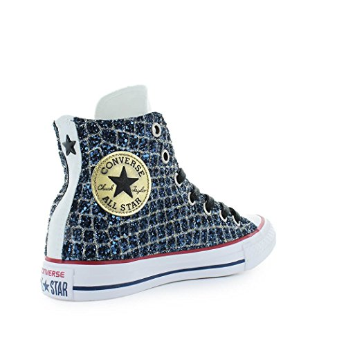 Chuck All Chaussures Ed Converse Baskets Bleu Printemps Star Taylor 2018 Été Femme Glitter Ltd RqgCnxwxt6