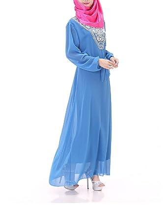 Yanxinenjoy - Falda Musulmana, Ropa de Mujer étnica árabe HUI ...