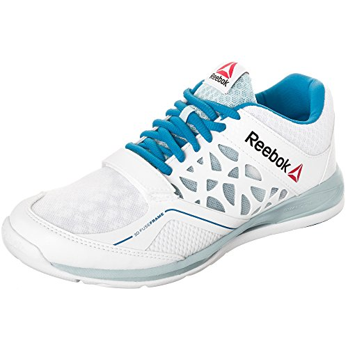 Reebok, Scarpe indoor multisport donna Bianco bianco 40