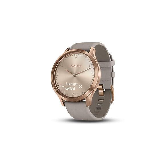 Garmin Vivomove HR Premium Hybrid Smartwatch Rose Gold with ...