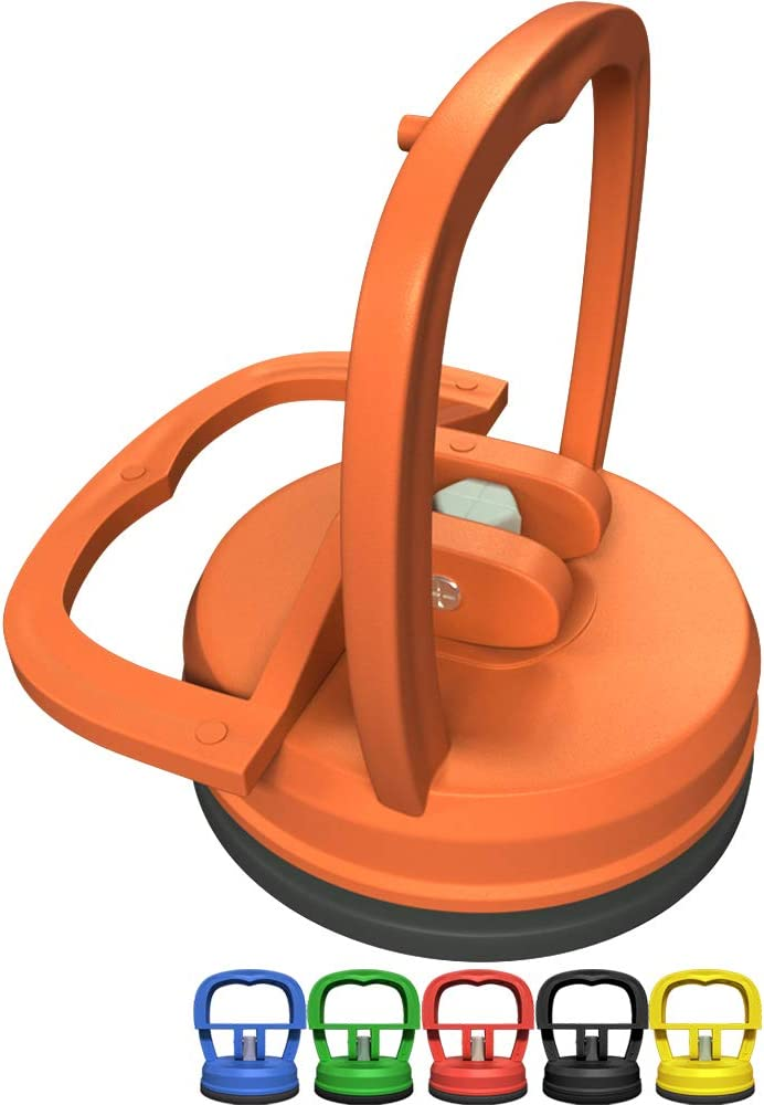 AVA KITCHENWARE Suction Cup for Screen Opening Tool for iMac Phone Cups for Tablet Computer Electronic Devices Repair Tool kit Phone Repair Section Cup (Orange)