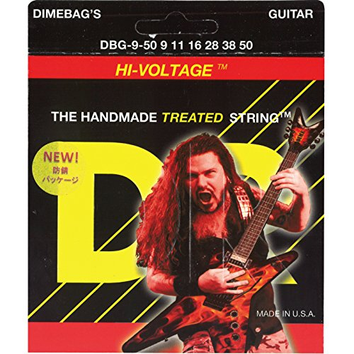 DR Strings Electric Guitar Strings, Dimebag Darrell Signatur