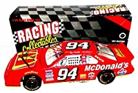 AUTOGRAPHED 1995 Bill Elliott #94 McDonalds Racing Team (Vintage) Signed Action 1/24 NASCAR Diecast Car with COA (1 of only 5,004 produced!) from Trackside Autographs