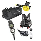 MARES Hybrid Size: M/L BCD Package with Mares Rover 12 Regulator / Mares Rover Octo and Mares Puck 3 Console Computer for Scuba Diving SIZE MEDIUM/LARGE